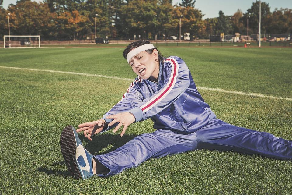 strechning efter träning, streching, tänjning